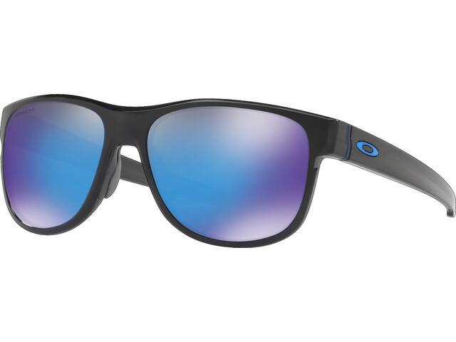35485f46a480f7 Oakley Crossrange R - Lunettes cyclisme - bleu noir - Boutique de ...